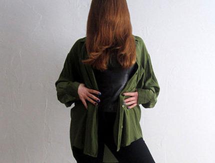 camo green clothing