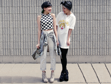 checker wear street snap
