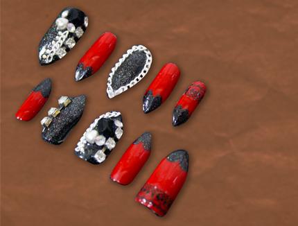 stuvvz nail lookbook set 1