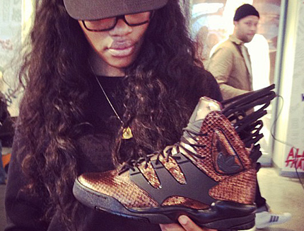 teyana taylor and adidas Harlem GLC