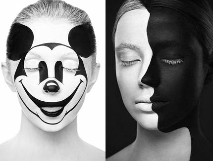 photographer Alexander Khokhlov and makeup artist Valeriya Kutsan