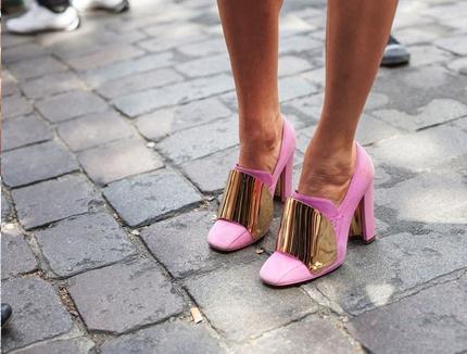 pink, grey, gold