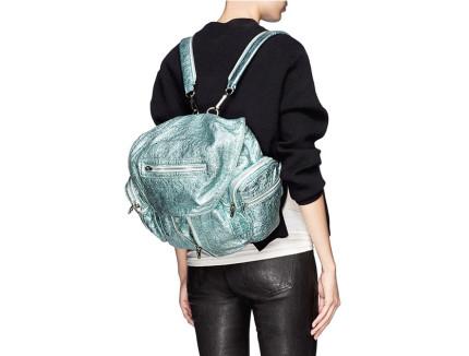 alexander wang metallic bag
