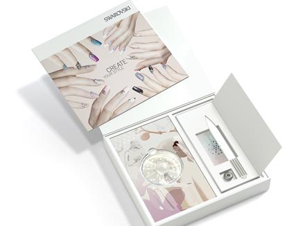 swarovski nail design box