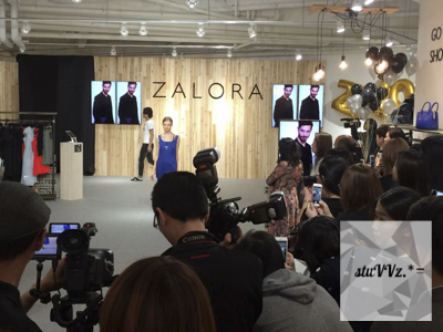 zalora hong kong pop up