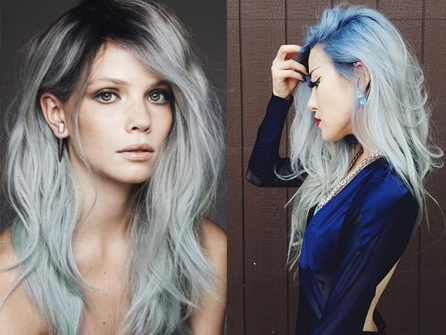 Perfect Hair Blend Balayage Light Blonde Ombre Ash Dark Roots