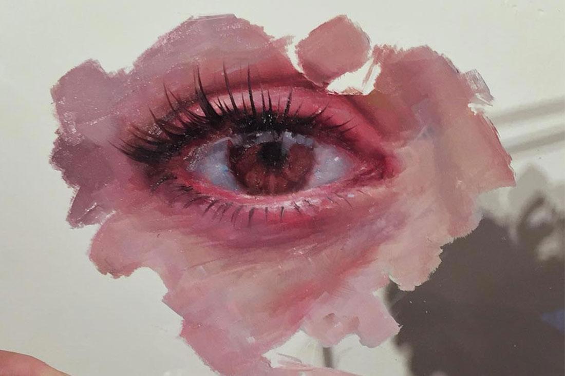 Henrik Uldalen glass painting